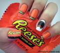 Reese's - nails-nail-art photo