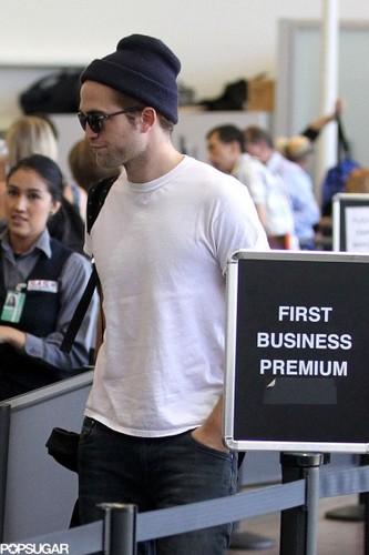Robert Pattinson at LAX