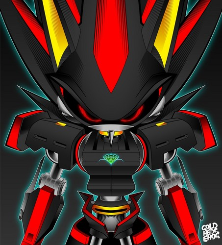 Shadow The Hedgehog wallpaper called Roboticized Shadow