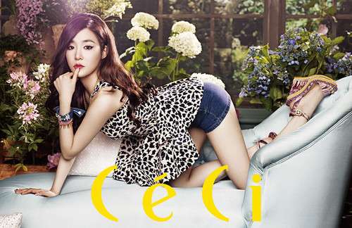 SNSD Tiffany is glamorous for CECI!