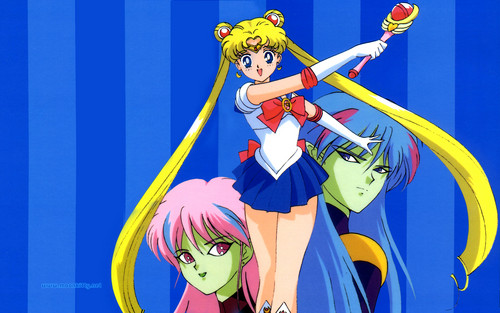 sailor moon wallpaper containing anime called Sailor Moon