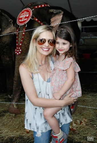 Sarah and charlotte attend Ringling Bros. and Barnum & Bailey Circus