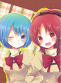 Sayaka and Kyoko Uniforms