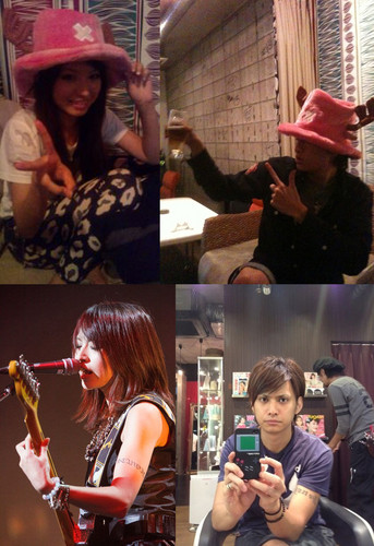 SCANDAL achtergrond with a fedora and a boater titled Scandal haruna with her boyfriend