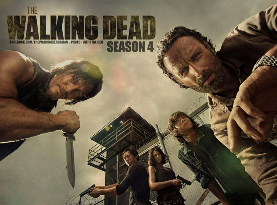 The Walking Dead Season 4 Promo Poster
