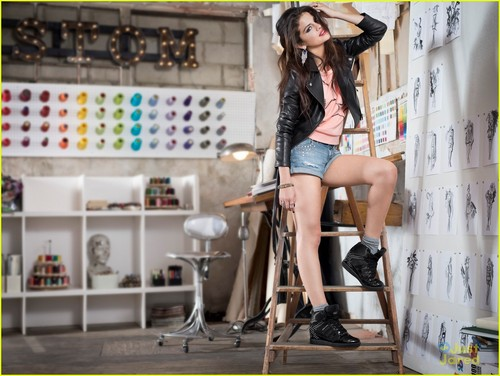 Selena Gomez: adidas NEO Campaign Pics!