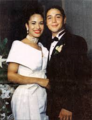 Selena and Chris - selena-quintanilla-perez photo