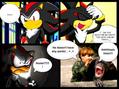 Sonic, Shadow, and Silver wallpaper containing anime titled Shadow got pissed...