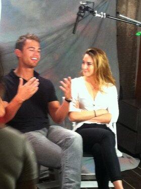 """Shailene at San Diego Comic Con 2013 [""""Divergent"""" - 17/07/13]"""