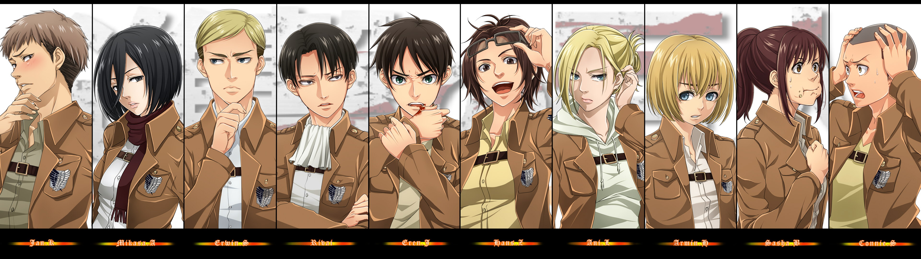 attack on titan fan shop