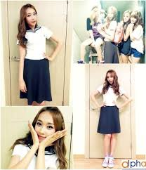 Skarf Jenny In a School Uniform