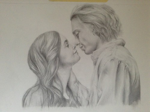 So ... I drew Clace. Yeah.
