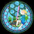 Some stain'd glass. - adventure-time-with-finn-and-jake photo
