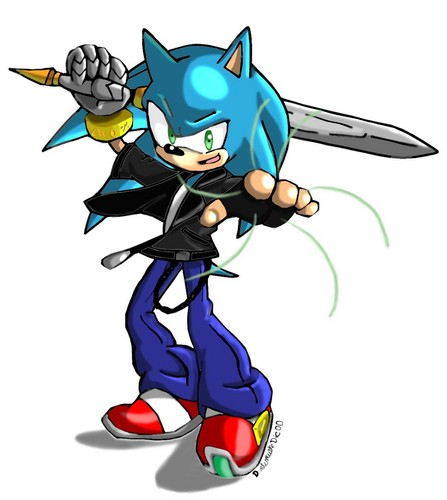 Sonic and Caliburn