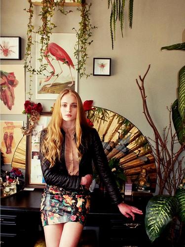 Sophie Turner 【Nylon; Sep 2012】