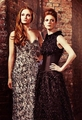 Sophie Turner and Rose Leslie 【Radio Times; April 2013】