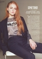 Sophie Turner 【Wonderland; May 2013】