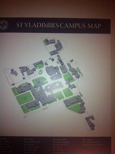 St. Vladimir campus map