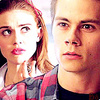 Stiles & Lydia تصویر containing a portrait called Stiles & Lydia 3x07<3
