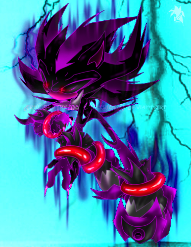 Super Dark Shadow The Hedgehog