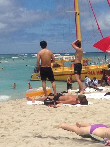 Super Junior in Hawaii