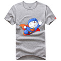 Superman Doraemon Flying logo new stlye t shirt - superman photo