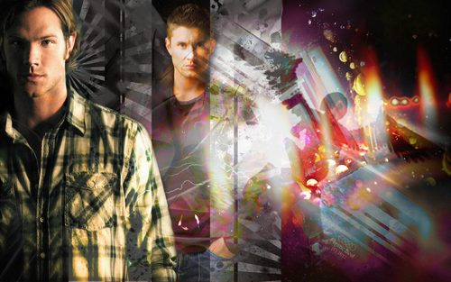 Supernatural wallpaper titled Supernatural ♥