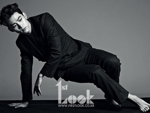 Taecyeon HOTTEST in a daze for '1st Look'