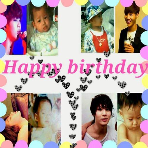 Taemin Happy Birthday Pics door fans