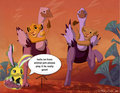 Take notice please we need more animal jam members - the-lion-king fan art