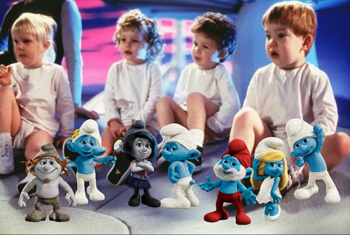 The Smurfs 2 and Baby Geniuses
