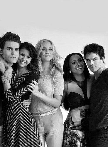 The Vampire DIaries Cast, San Diego Comic Con 2013