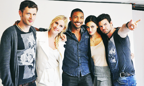 The Vampire Diaries cast / The Originals cast