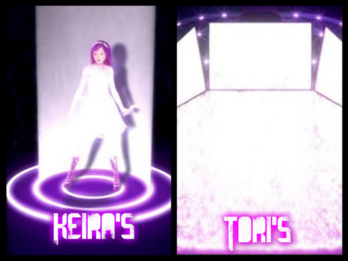 The difference between Keira's and Tori's Here I Am