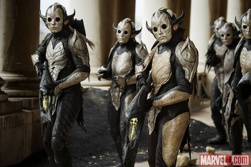 Thor: The Dark World The Dark Elf Army