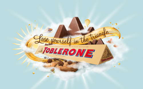 chocolat fond d'écran entitled Toblerone