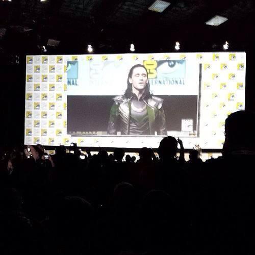 Tom Hiddleston/Loki introduces Thor 2 Footage