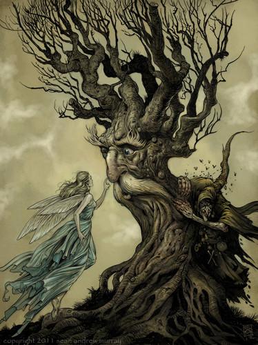 나무, 트리 spirit
