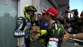 Vale and Cal after QP (Sachsenring 2013) - valentino-rossi photo