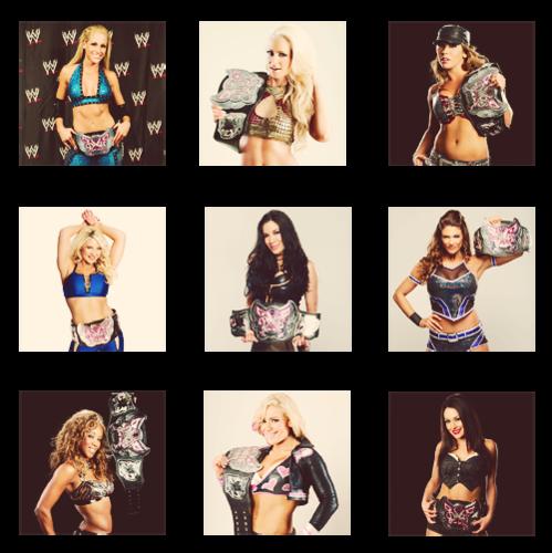 美国职业摔跤-女选手