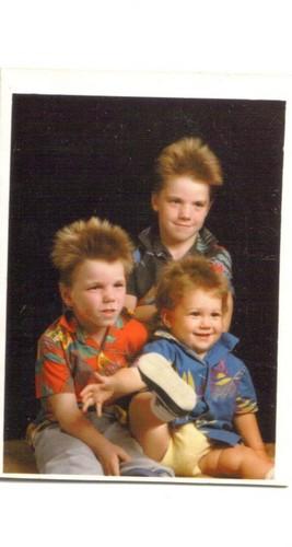 Wild and crazy cuz trio of the 80s