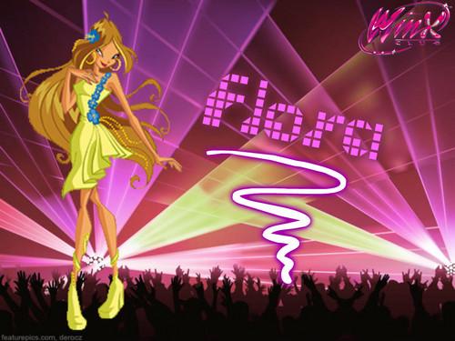 Winx Club Party achtergrond
