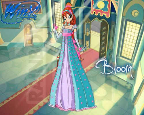 Winx Club Princess Ball 壁紙