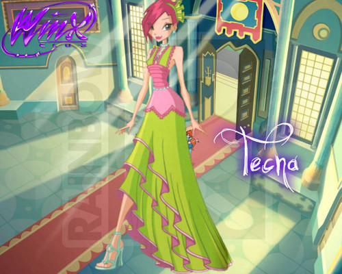 Winx Club Princess Ball Wallpapers