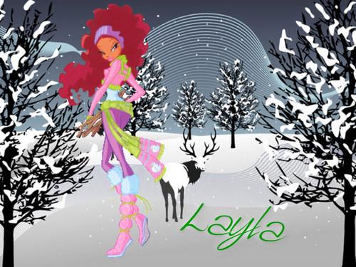 Winx Winter các hình nền