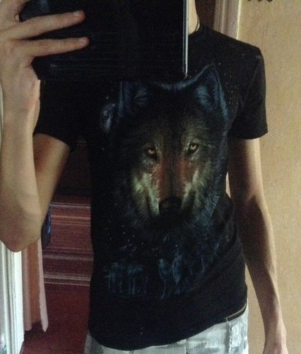 Wolfeh shirt!