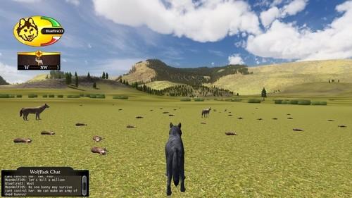 Wolfquest 2.5 screenshot