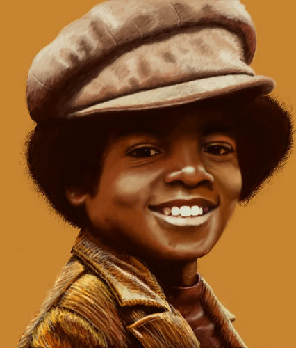 Young MJ Painting By Siryouss