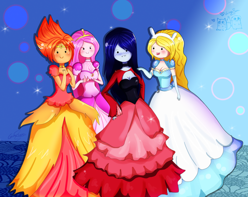 adventure time girls