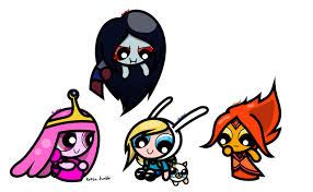 adventure time (powerpuff girls)